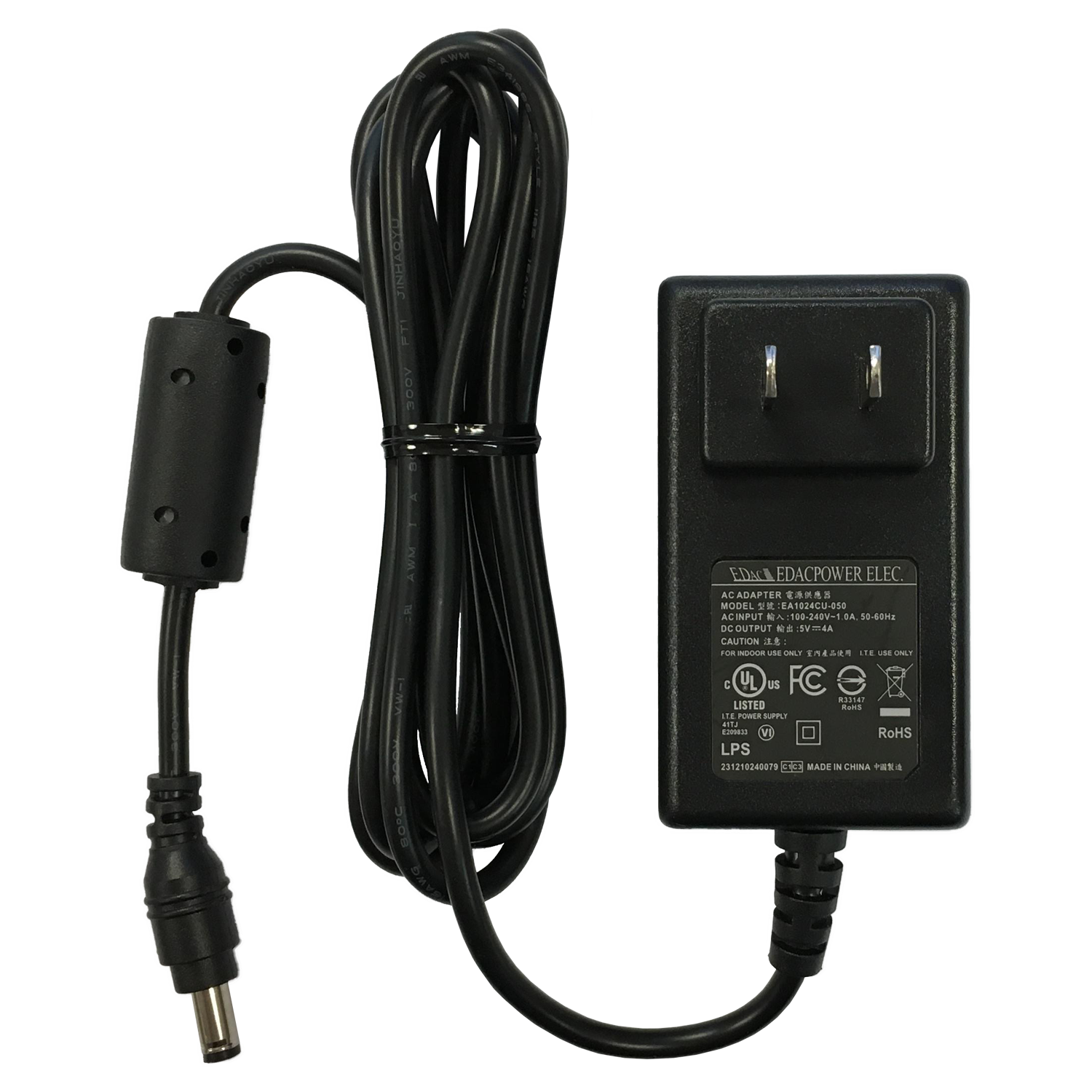 AC/DC Power Supply 5V SKU: 850012
