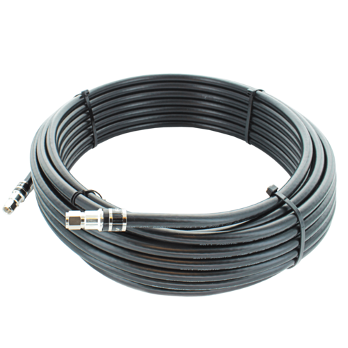 50 ft. Black RG11 Low-Loss Coax (F Male to F Male) SKU: 951150