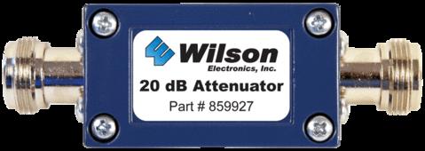20 dB Attenuator (N-Female)