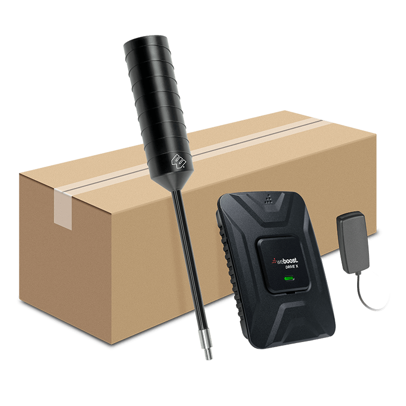 Drive X OTR Fleet kit with Box Web   | weBoost cell phone signal booster