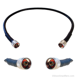 2 ft. Wilson-400 Ultra Low-Loss Cable (N-Male to N-Male)