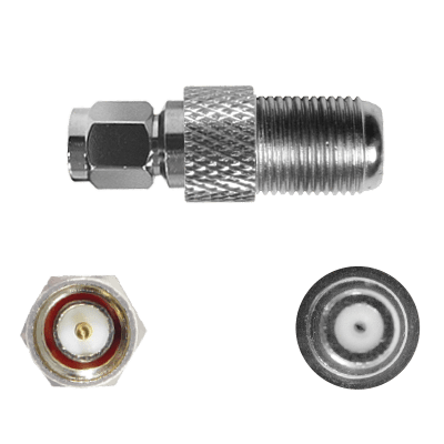 SMA-Male to F-Female Connector