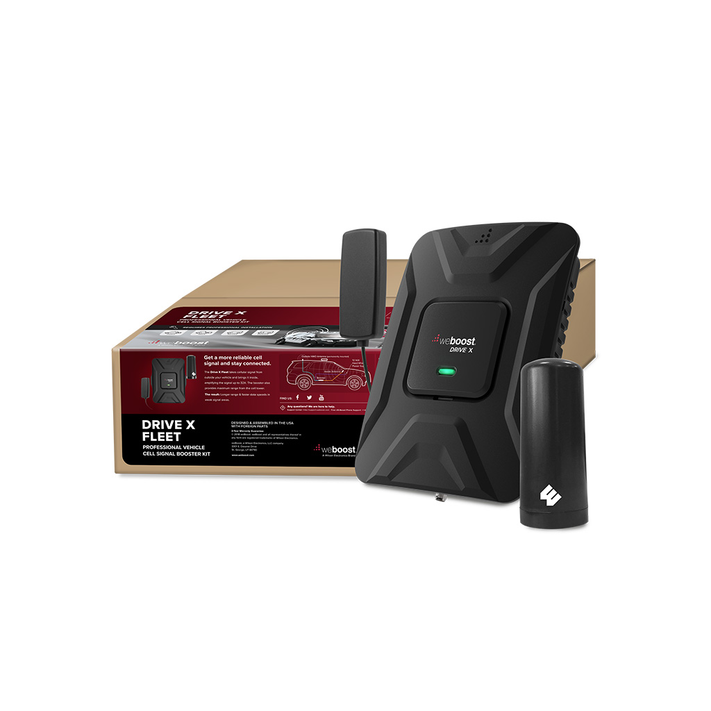 Drive X Fleet Product    | weBoost cell phone signal booster