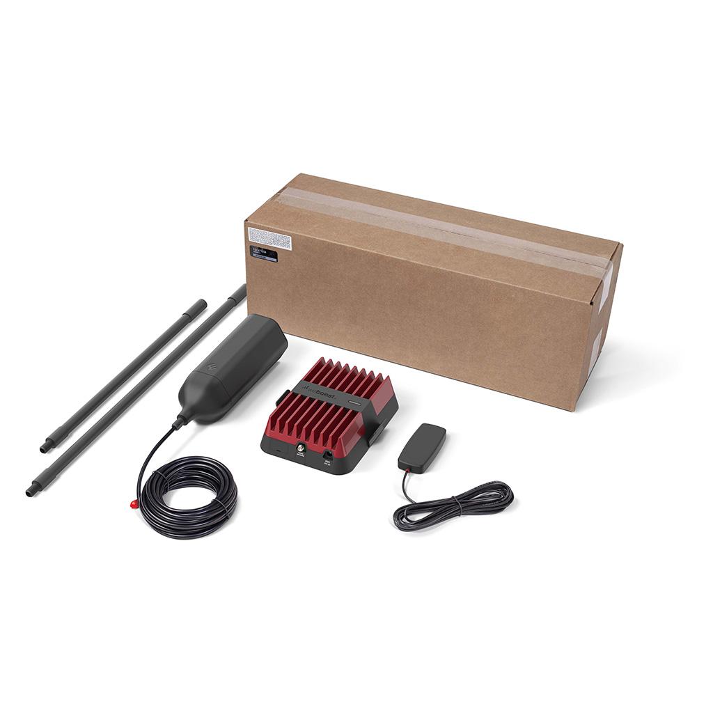 Drive Reach OTR Fleet Kit with Box Web   | weBoost cell phone signal booster