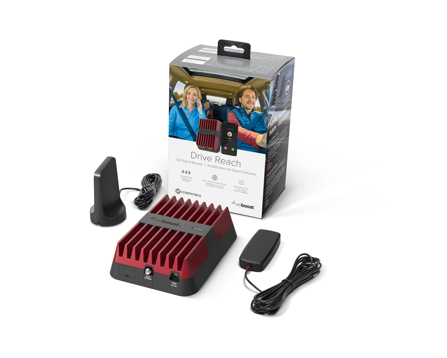 Drive Reach | weBoost cell phone signal booster