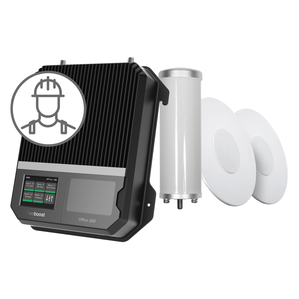 weBoost Installed | Office 200 Image | weBoost cell phone signal booster