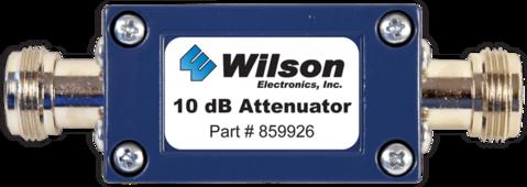 10 dB Attenuator (N-Female)