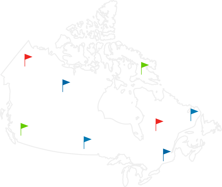 Canada Carrier Map
